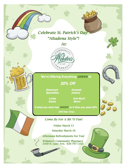 St. Pat's Day 2013-Flyer 1
